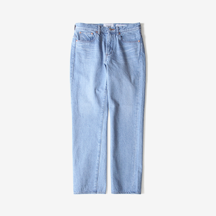 YAECA(MEN) / PIPED STEM DENIM(1-13U) / L.BLUE
