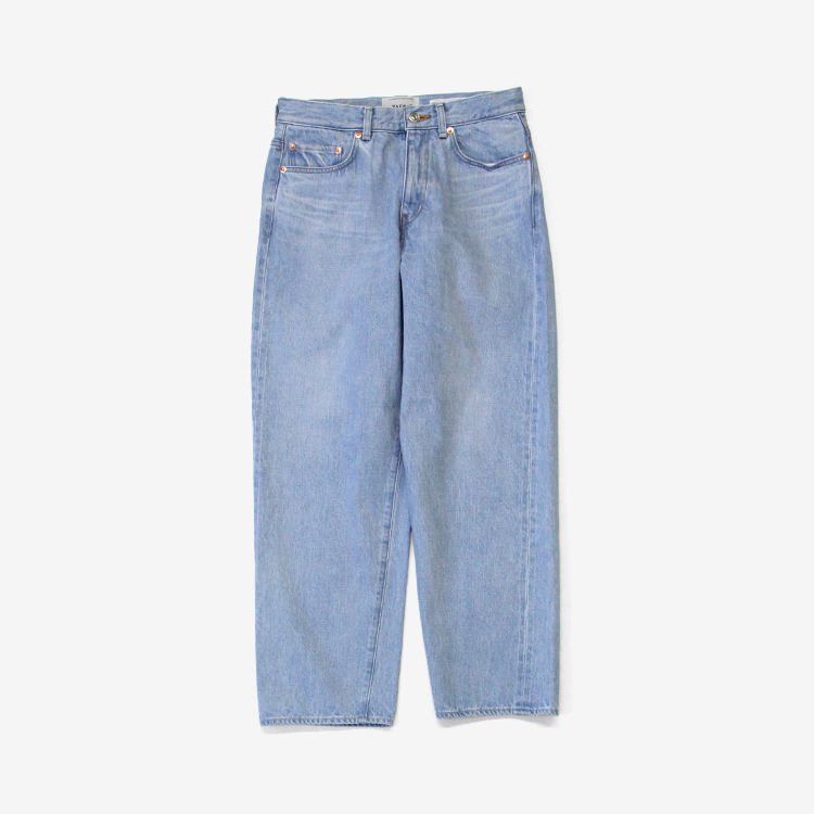 YAECA(MEN) / WIDE STRAIGHT DENIM(13-13U) / L.BLUE