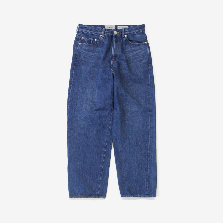 YAECA(MEN) / WIDE STRAIGHT DENIM(13-13U) / BLUE