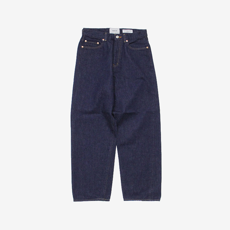 YAECA(MEN) / WIDE STRAIGHT DENIM(13-13WW)