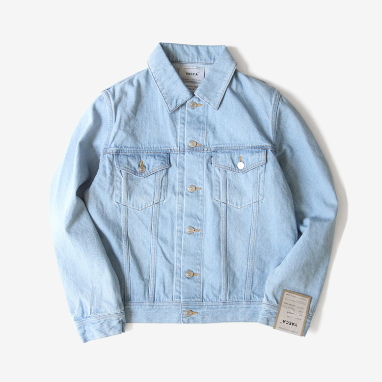 YAECA(MEN) / DENIM JACKET(18-13U) / L.BLUE