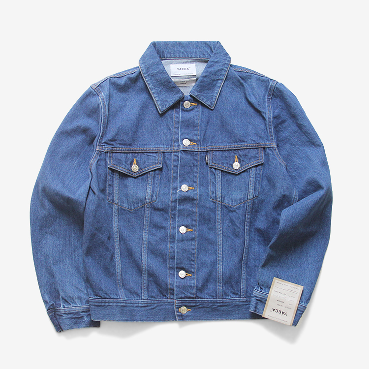 YAECA(MEN) / DENIM JACKET(18-13U) / BLUE