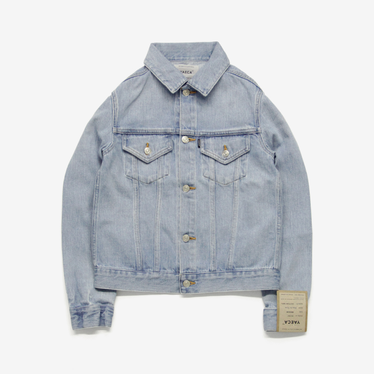 YAECA(WOMEN) / DENIM JACKET(16-12U) / L.BLUE