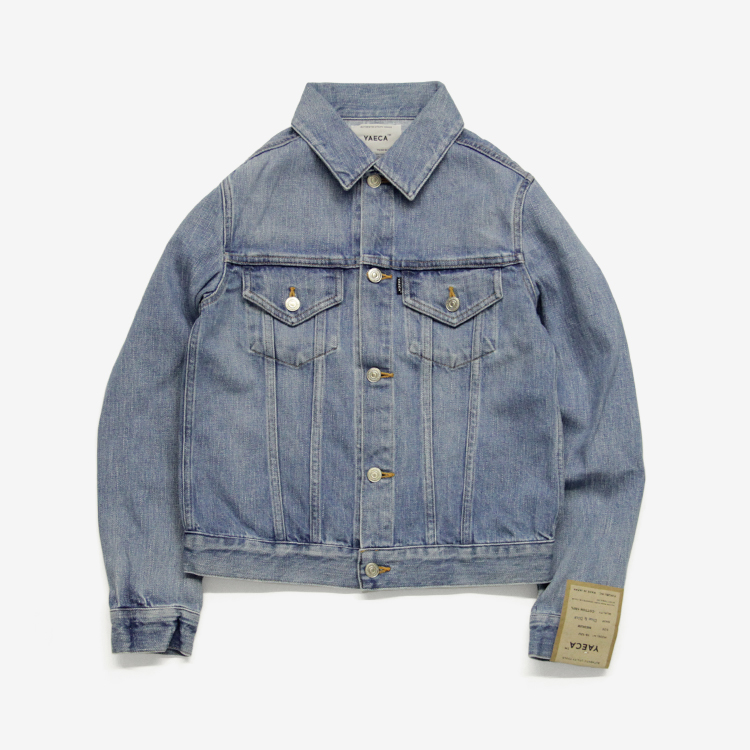 YAECA(WOMEN) / DENIM JACKET(16-12U) / BLUE