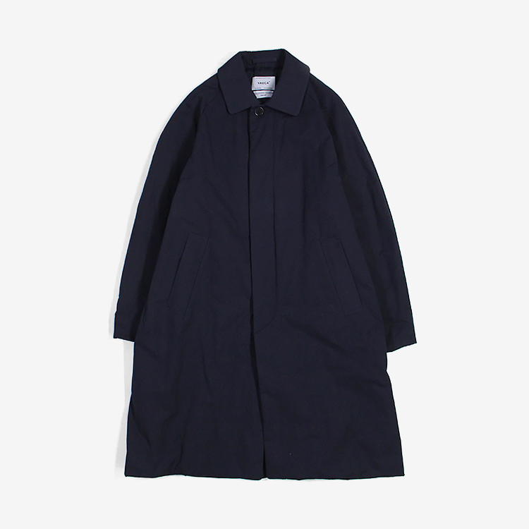 YAECA(MEN) / SOUTIEN COLLAR COAT STANDARD PADDING / NAVY
