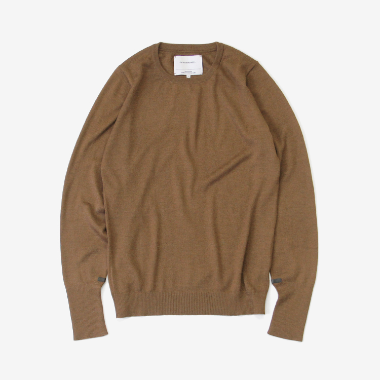 THE INOUE BROTHERS... / Crew Neck Pullover / CAMEL