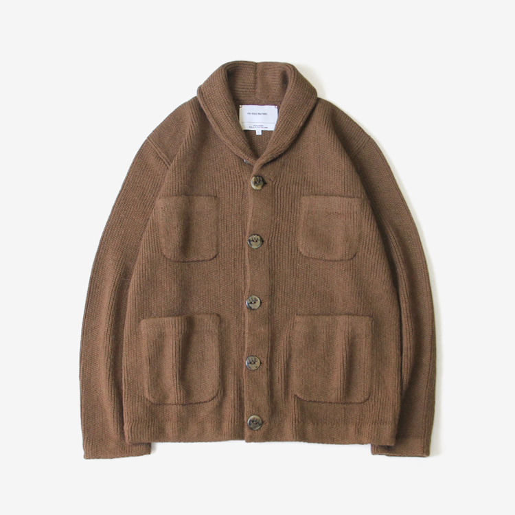 THE INOUE BROTHERS... / Collar Jacket / CAMEL