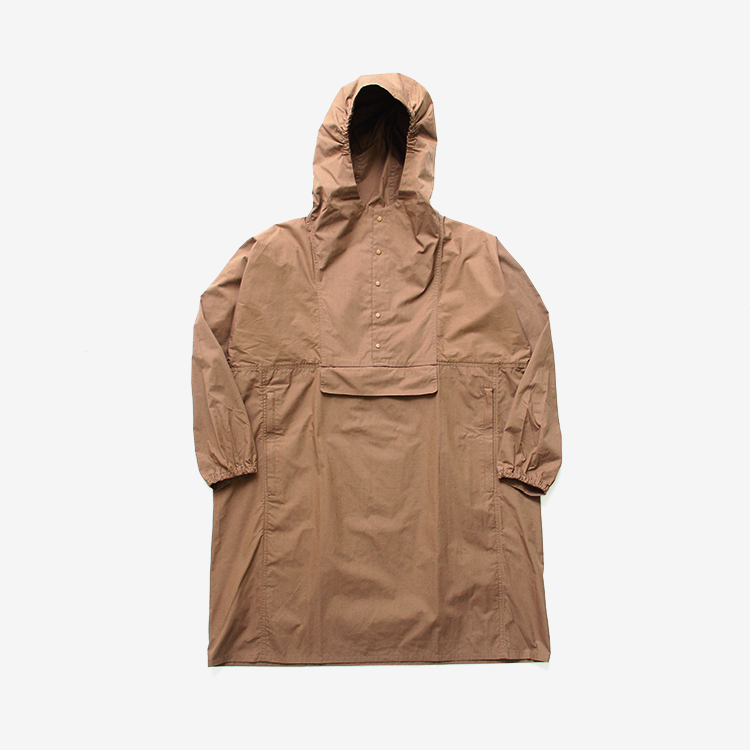 YAECA(MEN) / ANORAK LONG / BROWN