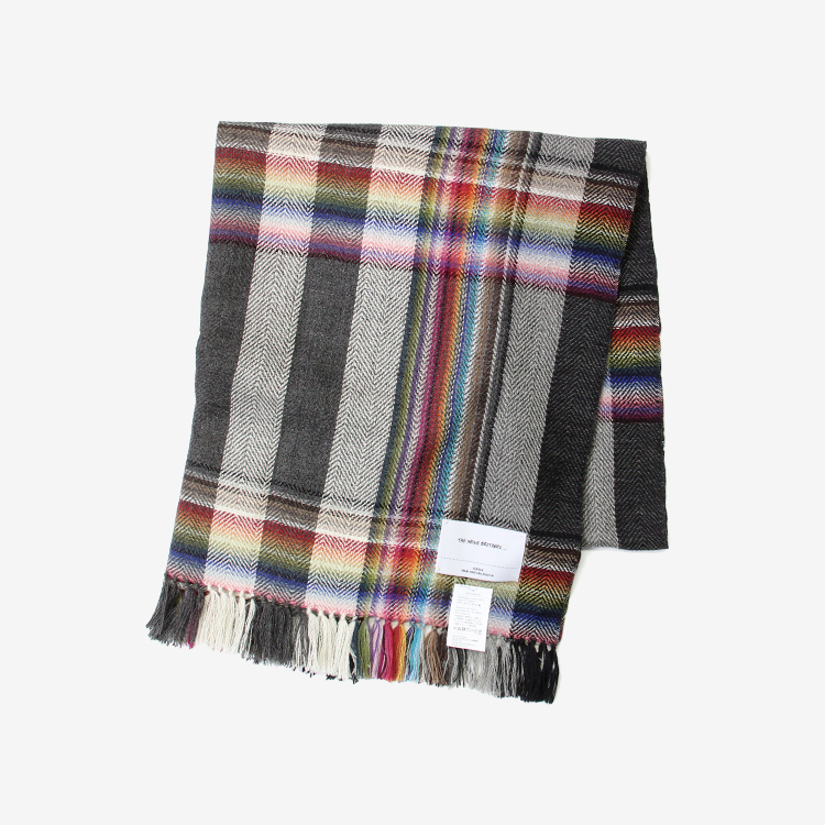 THE INOUE BROTHERS... / Multi Colored Scarf / GREY