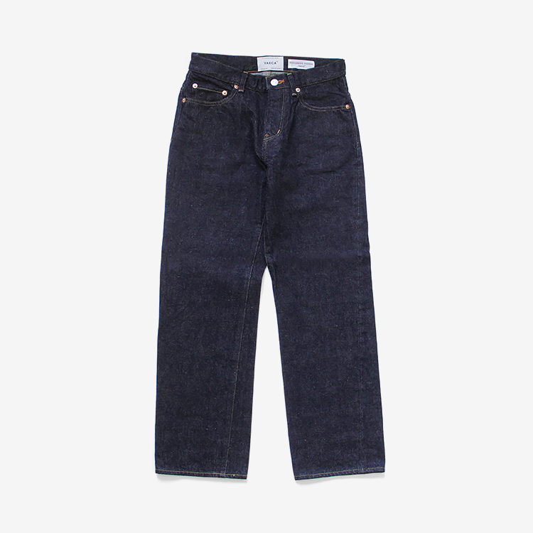 YAECA(WOMEN) / PIPED STEM DENIM(3-14W)