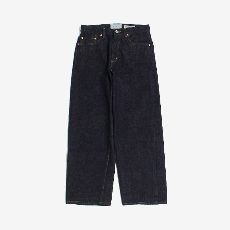 YAECA(WOMEN) / WIDE STRAIGHT DENIM(11-14W)