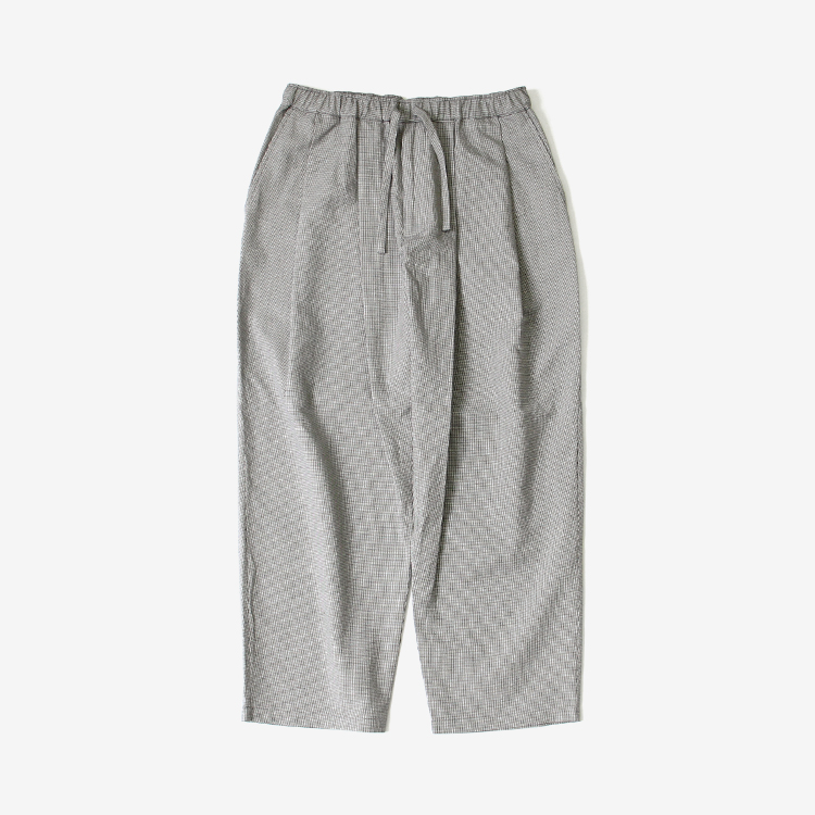 SEVEN BY SEVEN / TUCK PANTS - Houndstooth pattern -