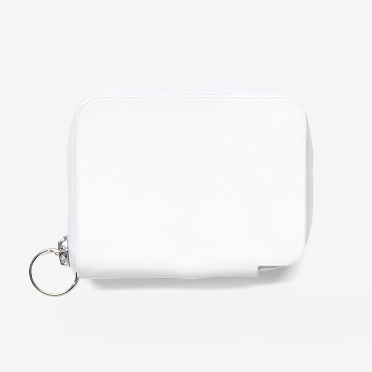 ED ROBERT JUDSON / CEAL -  SMALL WALLET / WHITE