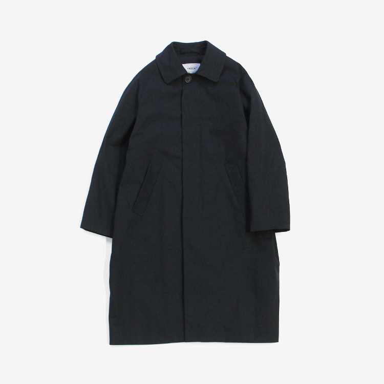 YAECA(WOMEN) / SOUTIEN COLLAR COAT - STANDARD / NAVY