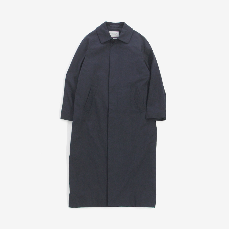 YAECA(WOMEN) / SOUTIEN COLLAR COAT - LONG / NAVY