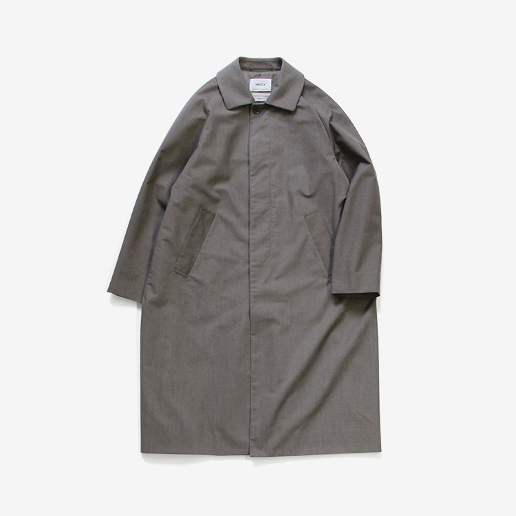 YAECA(WOMEN) / SOUTIEN COLLAR COAT - STANDARD / GRAY