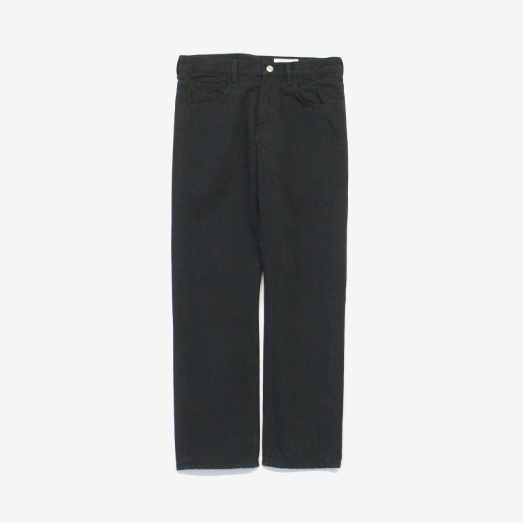 YAECA CONTEMPO(MEN) / BLACK DENIM