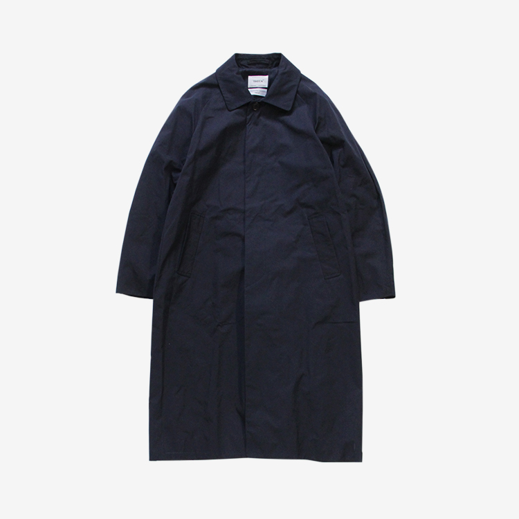 YAECA(MEN) / SOUTIEN COLLAR COAT - LONG / NAVY