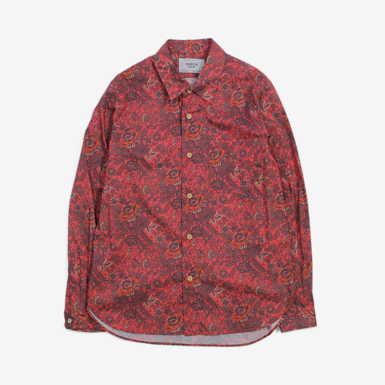 YAECA WRITE(WOMEN) / BUTTON SHIRT / NOTTINGHAM