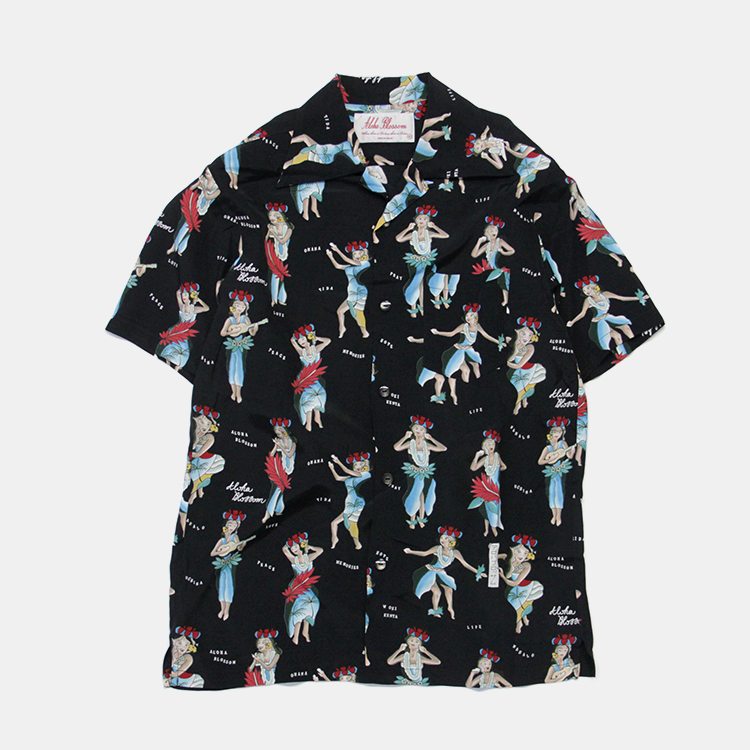 Aloha Blossom(MEN) / HULA GIRL / BLACK