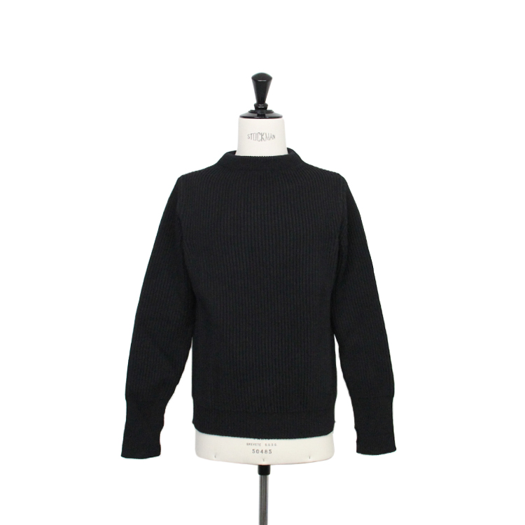 ANDERSEN-ANDERSEN / THE NAVY CREW NECK/BLACK